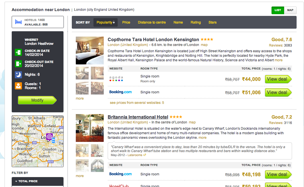 Hotel Search Skyscanner