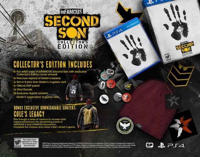 infamous second son,