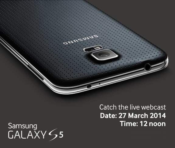 Samsung Galaxy S5 Live Webcast