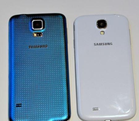Samsung Galaxy S5 v S4