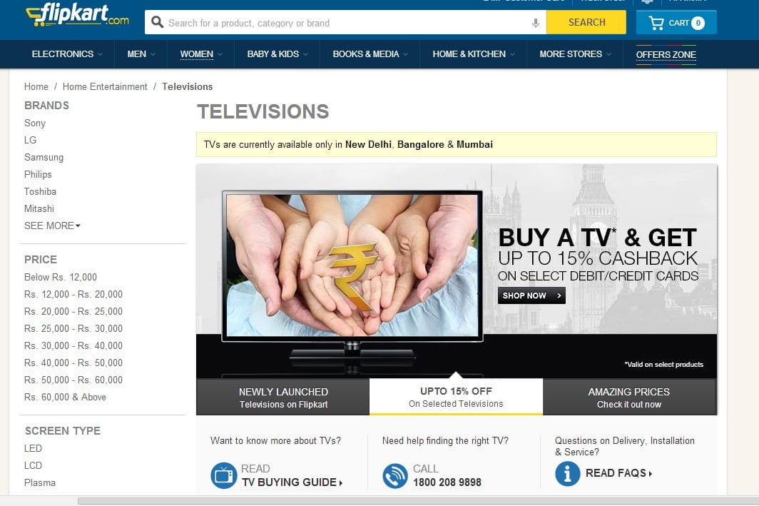 Televisions Price in India Buy Televisions Online at Best Price in India Flipkart.com