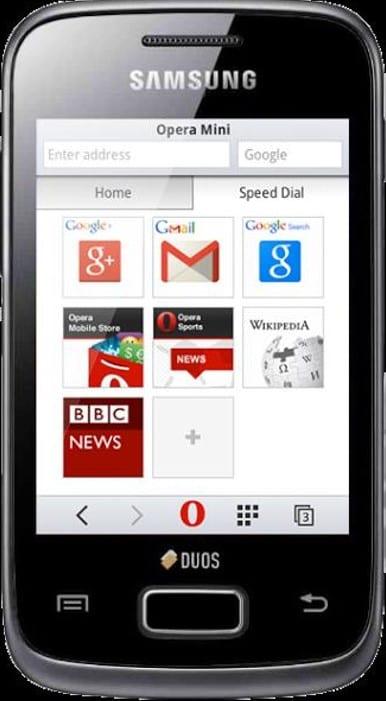 Скачать Оперу Mini Для Galaxy 3 Андроид