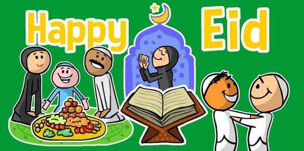 WeChat Eid Stickers