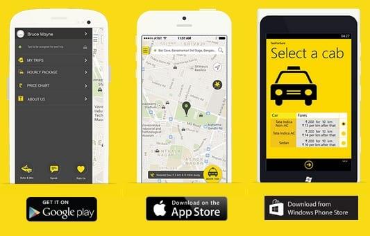 Promo code TaxiForSure