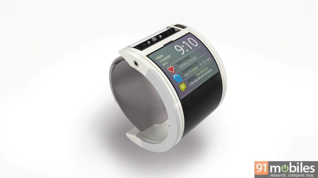 Google Nexus 360 wristband mode
