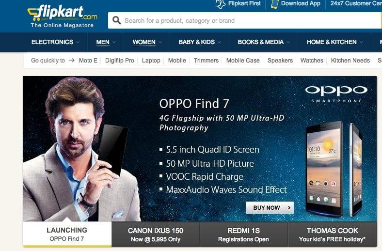 OPPO Mobiles India partners with Flipkart