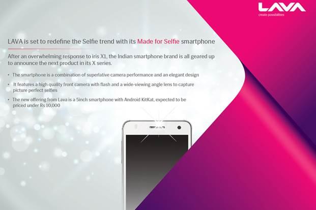 LAVA Selfie Smartphone