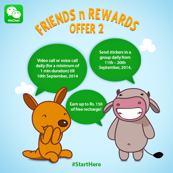 WeChat Introduces New 'Friends N Rewards' Campaign With a Twist, Now Users Can Win Free Recharge Worth Rs.150