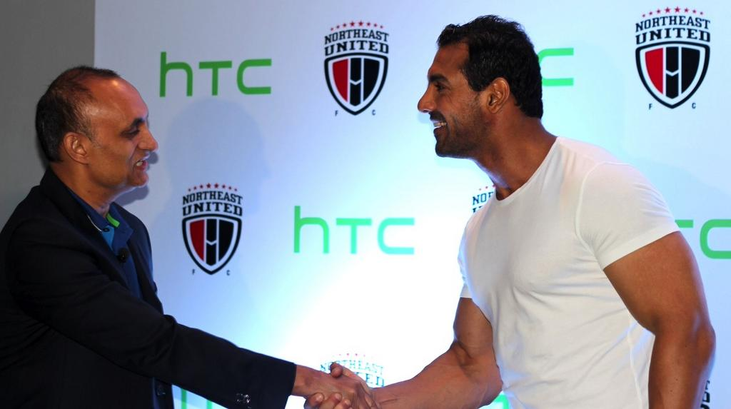 HTC joins NorthEast United FC as their lead sponsor for the Hero ISL