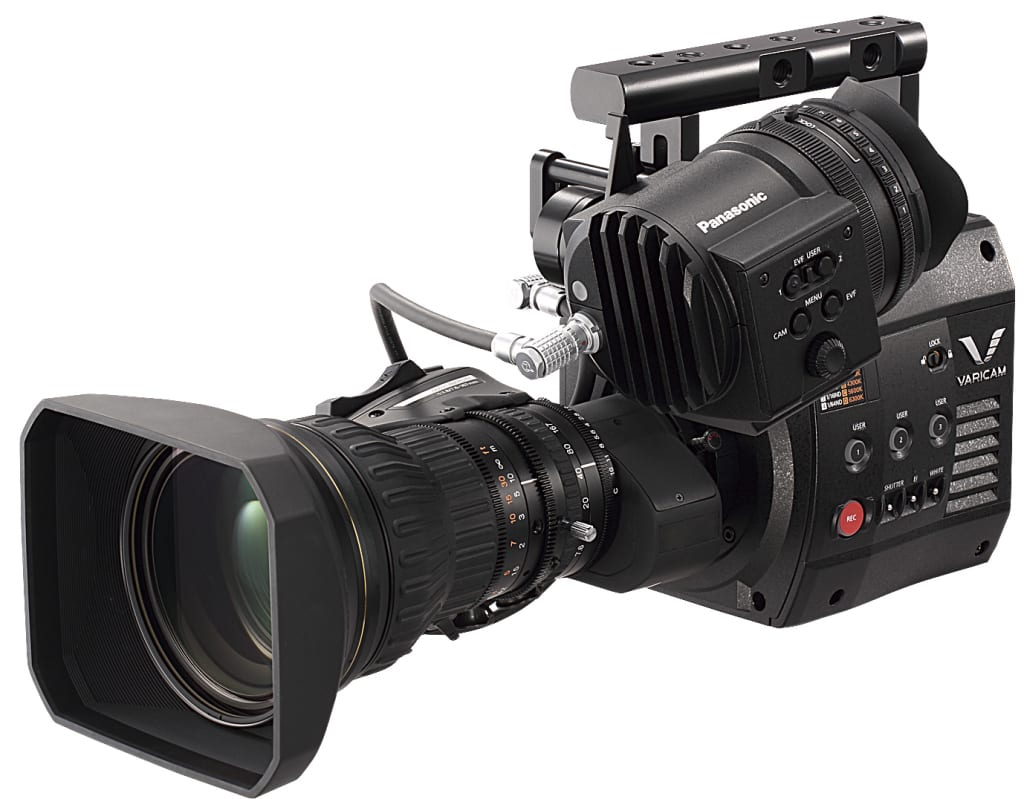 Panasonic Unveils Its Production Models 4k Varicam And Hs Camcorder Hc Wx970 Ultra Hd 100mm