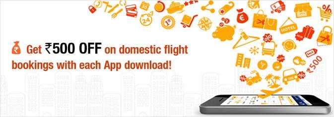 MakeMyTrip Travel Apps hit 4 Million downloads