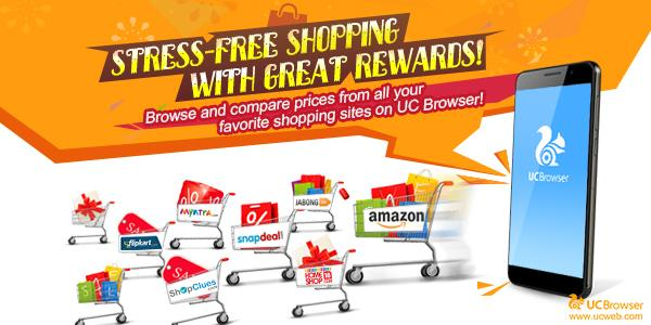 ucbrowser shopping festival