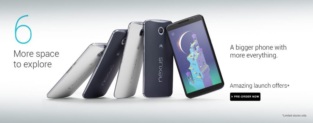 Preorder Nexus 6