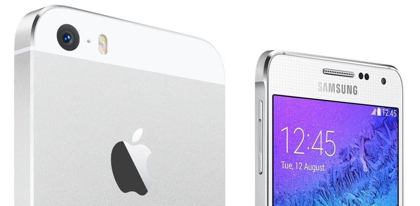 iphone-5s-vs-samsung-galaxy-alpha-5 specs