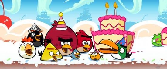 Angry Birds birdday