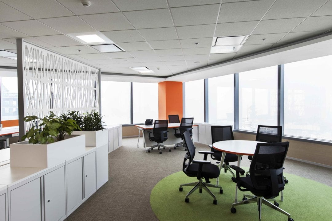 GlaxoSmithKline Consumer Healthcare MD's cabinless office