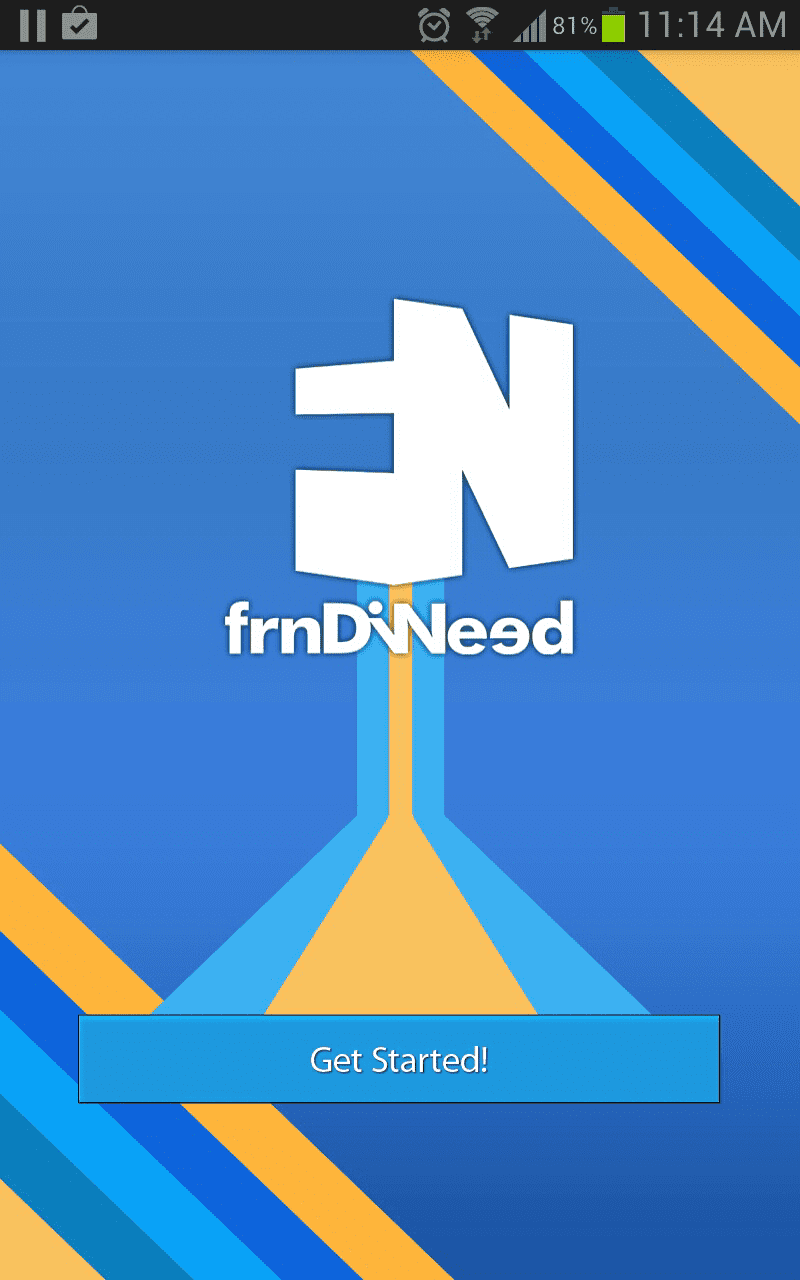 'FrndiNeed' app