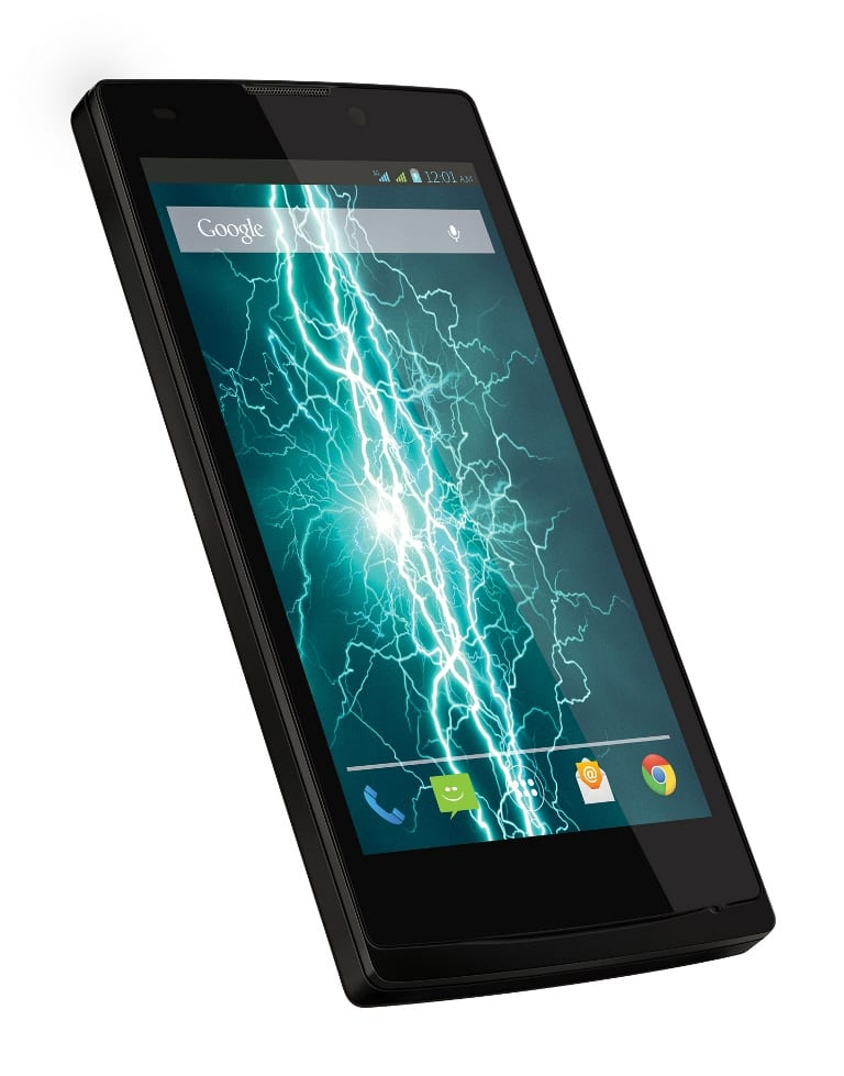 LAVA Iris Fuel 60 side