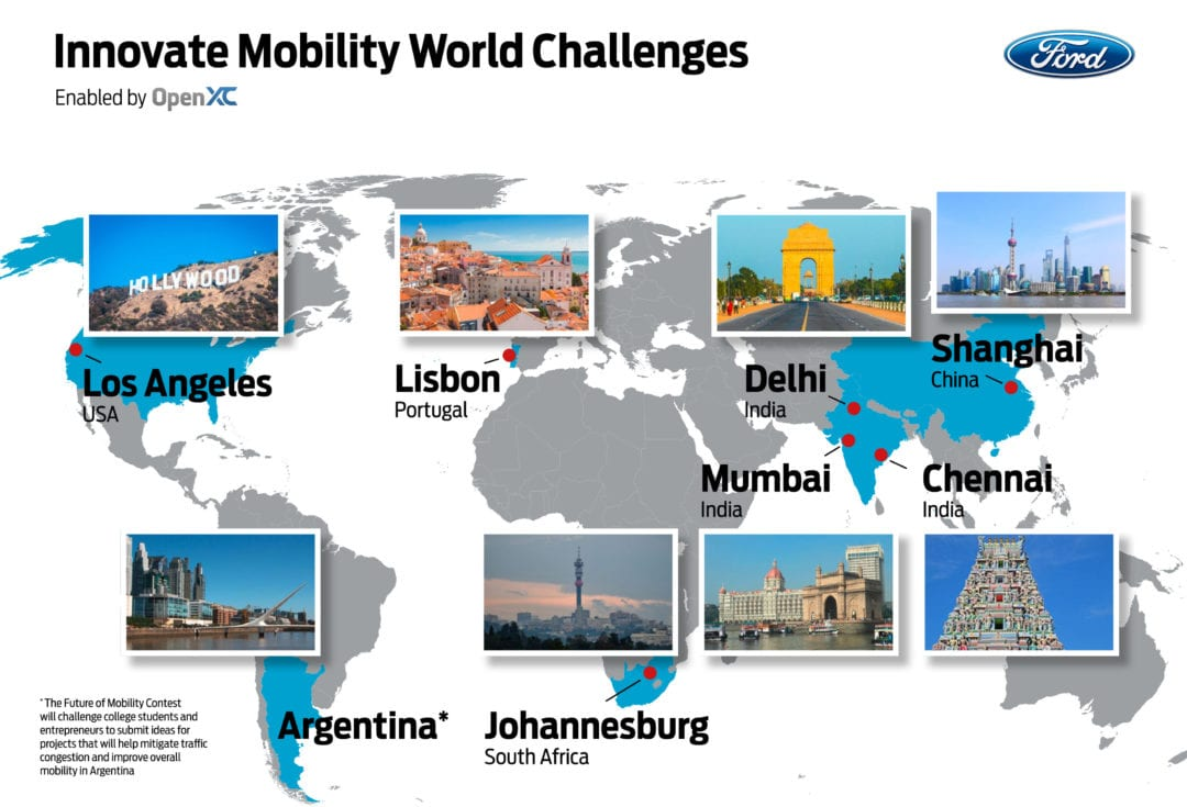 Ford Announces Winners of its Innovate Mobility Challenge Series