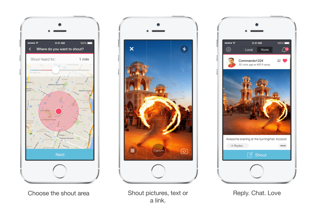 Spangle Inc. Releases a Unique Location Sharing Social App - Shout