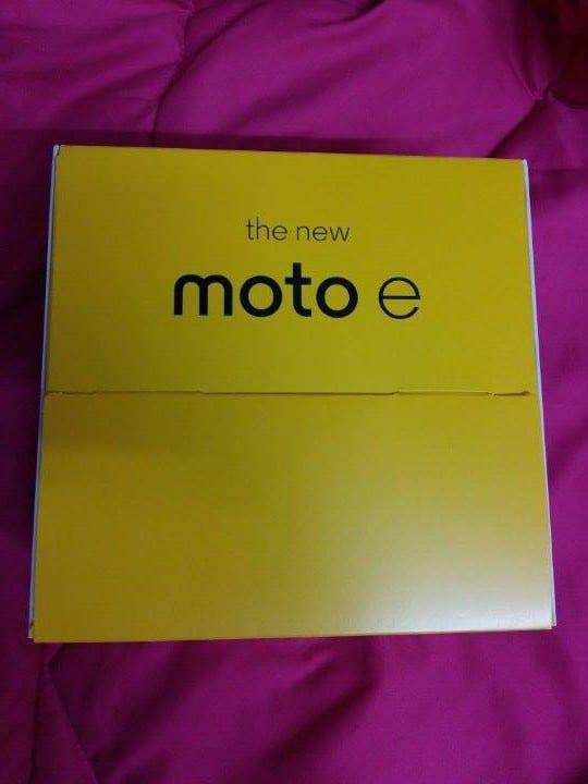 New Moto E