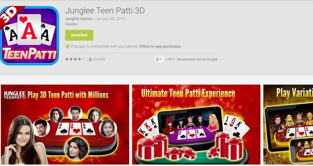 Junglee TeenPatti