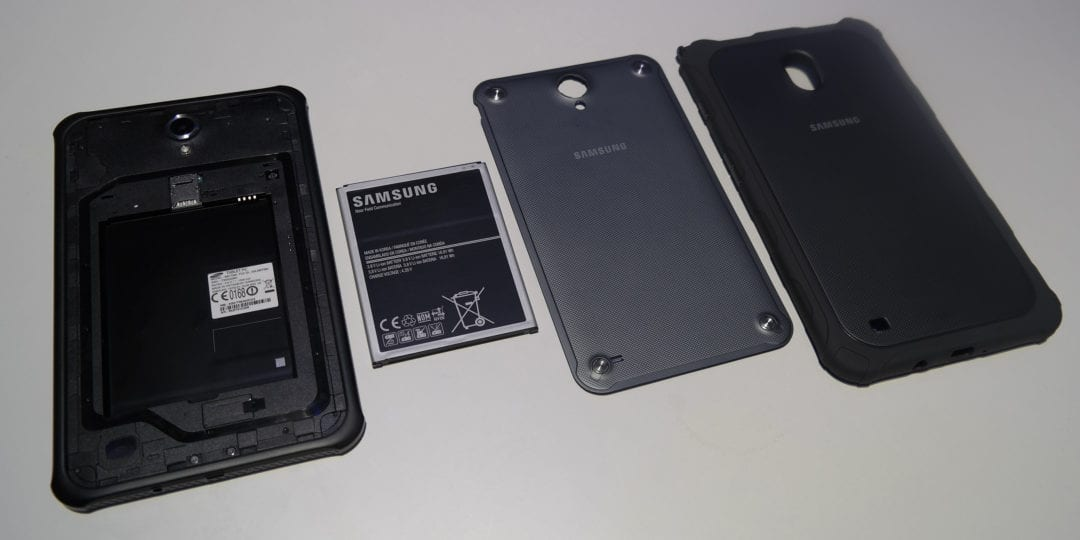 Galaxy Tab Active teardown