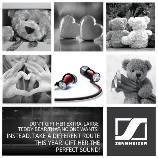 Celebrate Valentine's day with Sennheiser Momentum In Ear