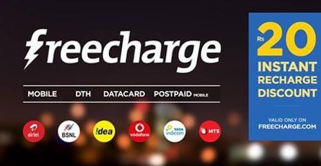 freecharge-promo code