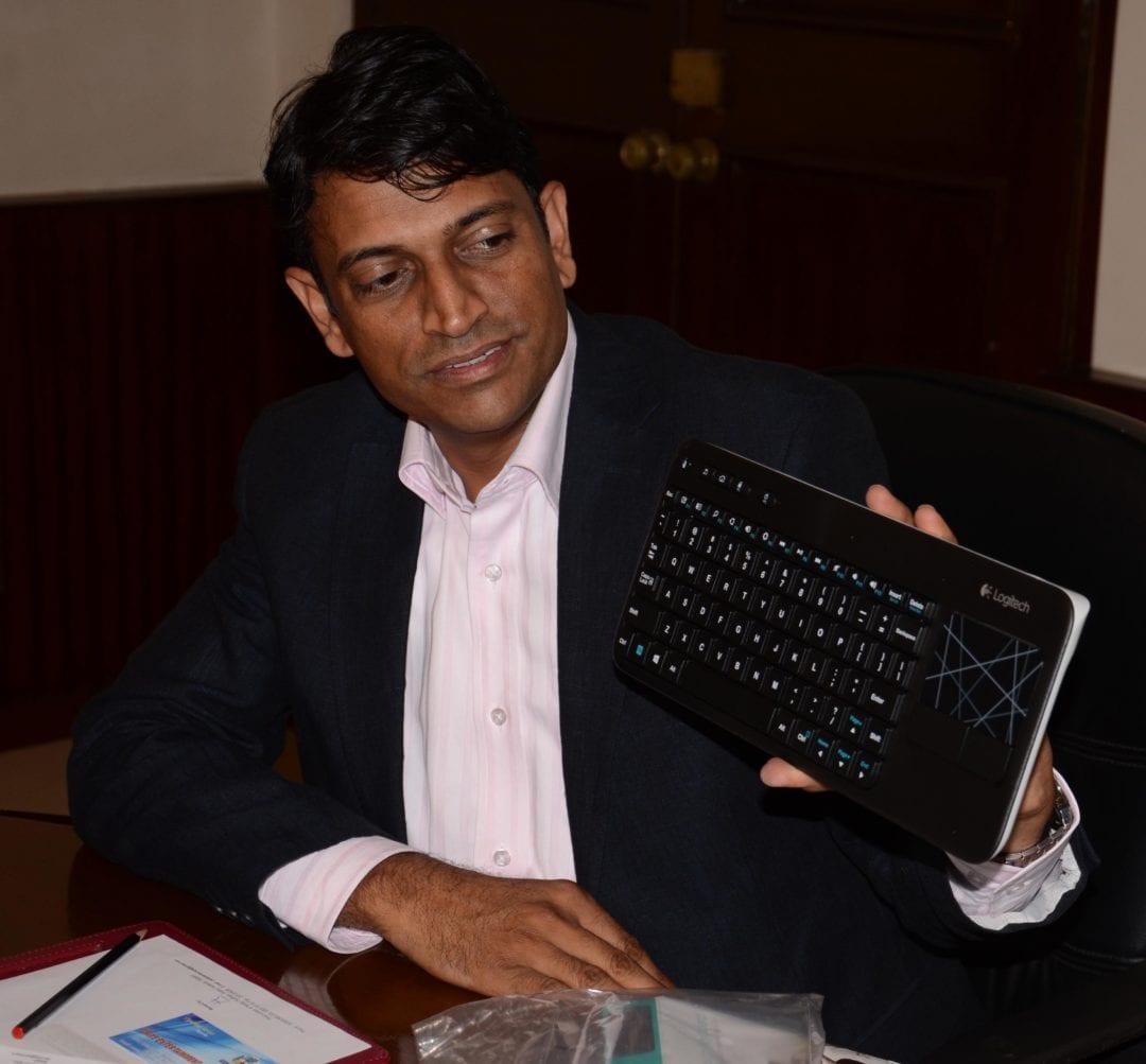 Ashok Jangra, cluster marketing manager (India & South West Asia), Logitech Electronic India Pvt Ltd