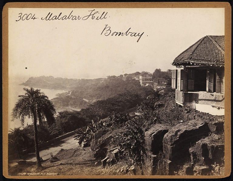 malabar-hill-bombay-mumbai-19th-century-photograph