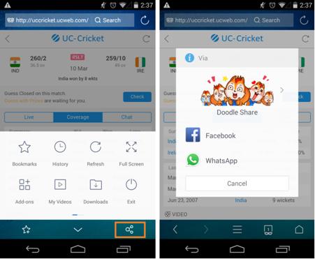 Whatsapp uc browser facebook download