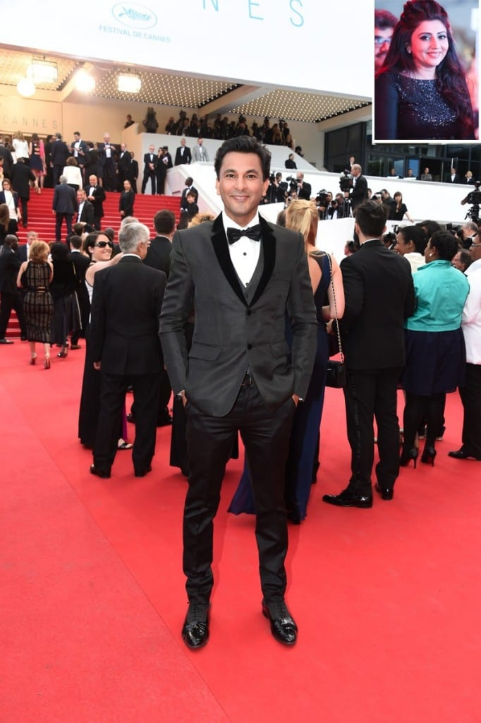Chef Vikas Khanna on Cannes Red Carpet in designer Archana Kochhar creation