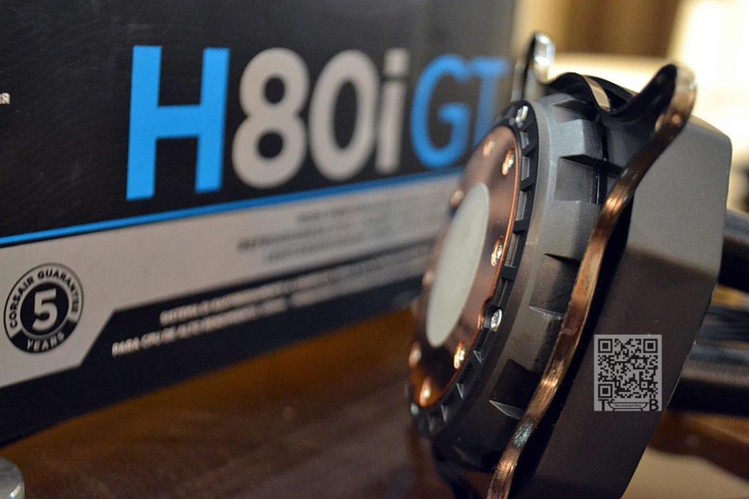 Corsair Hydro Series H80i GT AIO Liquid Cooler Review