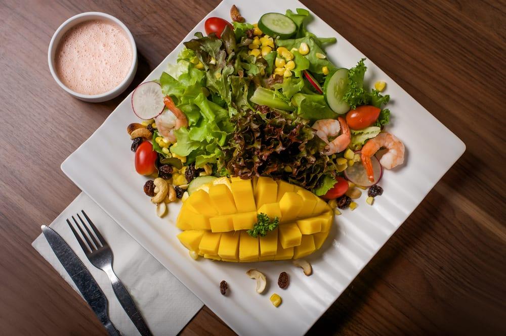 Mango Salad at Foodhall