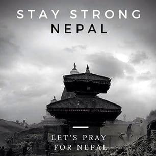 #NepalRelief