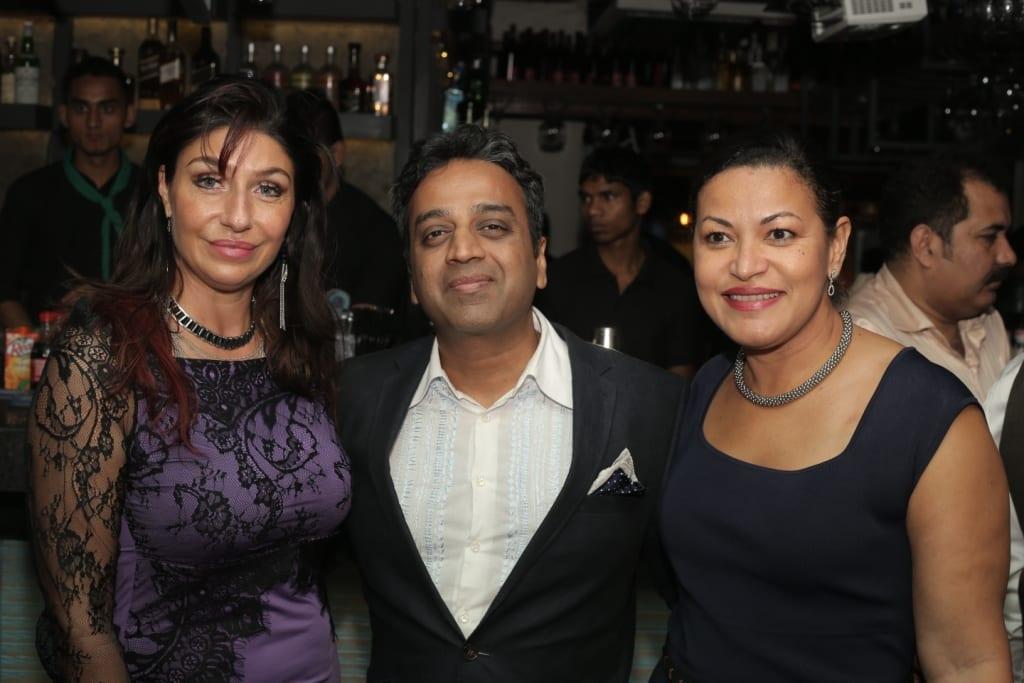 Viara, Nalin Gupta & Thenny Mejia