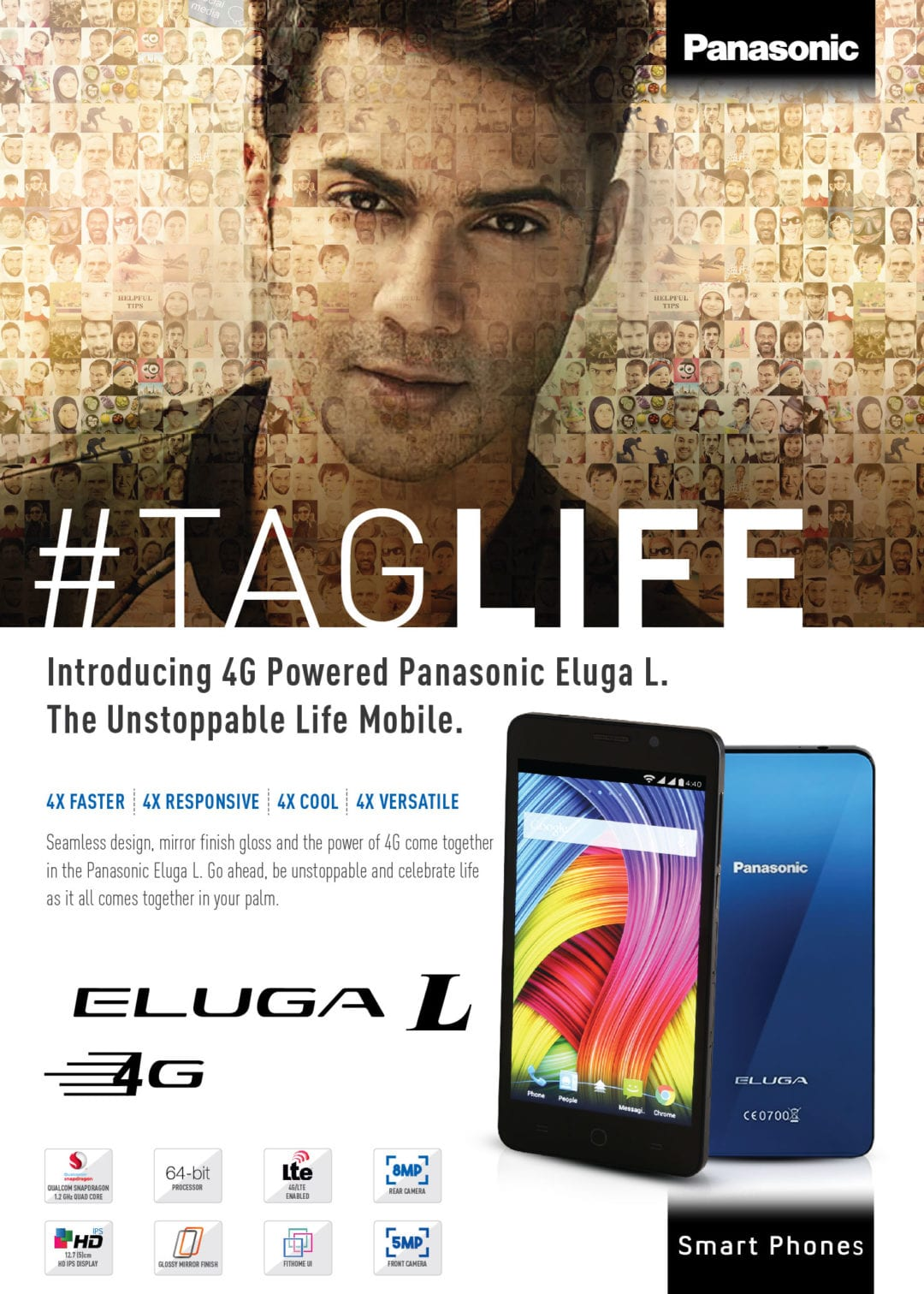Launches ELUGA L 4G at an attractive offer price of Rs. 12,990
