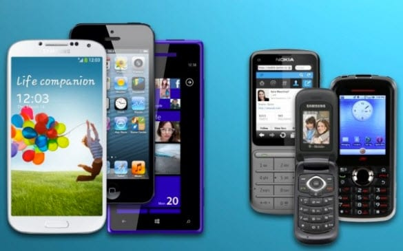Featured phone vs Smartphone
