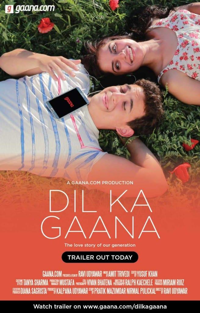 Gaana.com sings the 'Dil ka Gaana' as it unveils a new love story