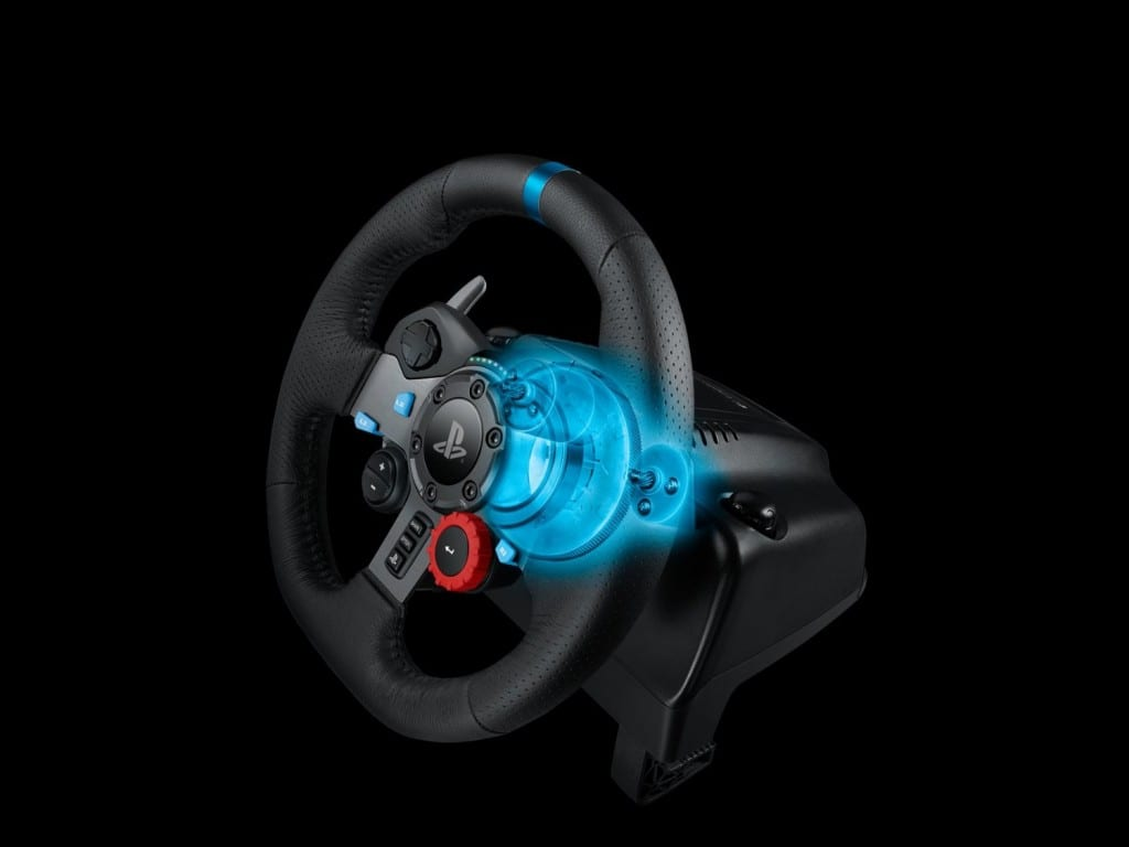 Logitech G Introduces Force Feedback Racing Wheel for the PlayStation®4