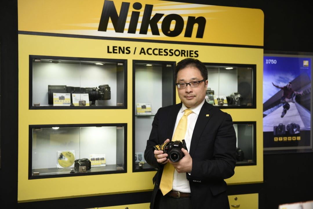 Mr. Kazuo Ninomiya - MD Nikon India