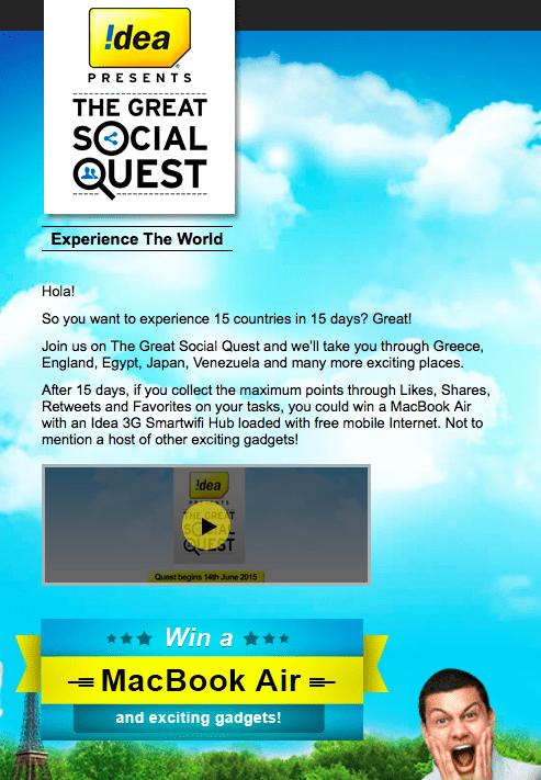 Idea The Great Social Quest