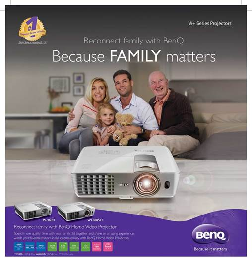 BenQ family reconnect
