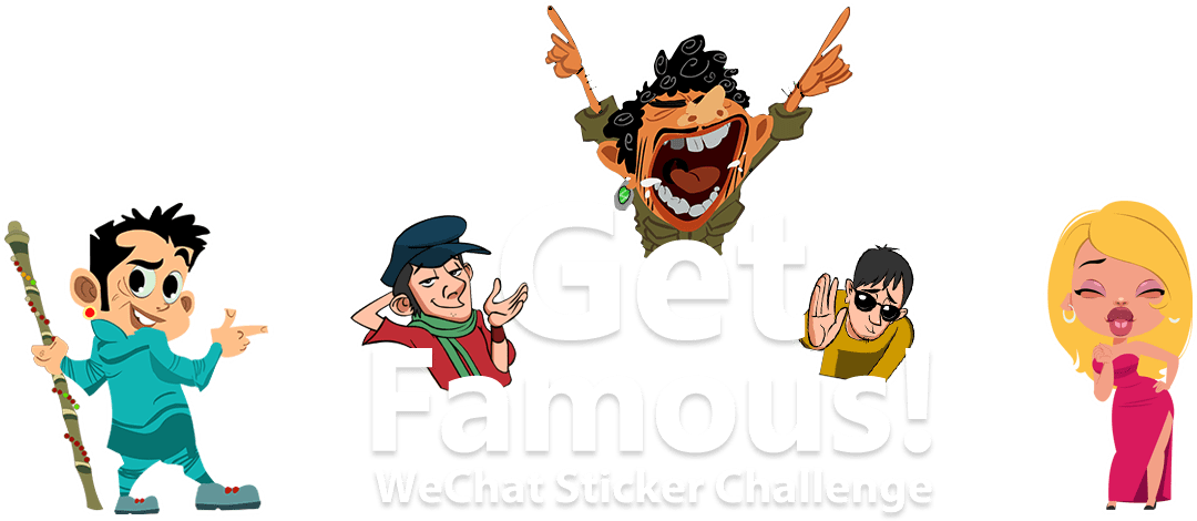 Create the coolest 'Indian Animated Stickers' for WeChat.