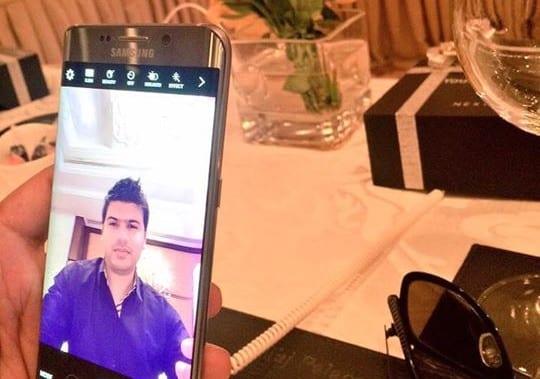 Samsung Galaxy S6 Edge+ Selfie Camera