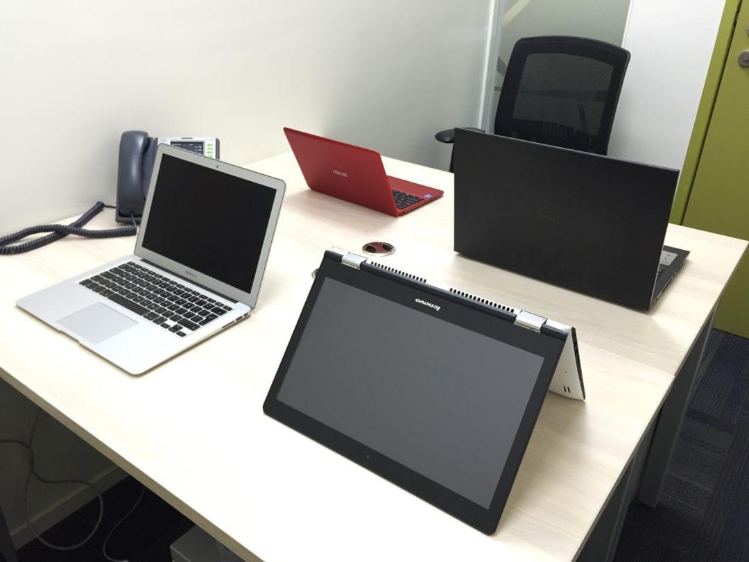 Refurshbised Dell Laptop from GreenDust joins @theunbiasedblog office