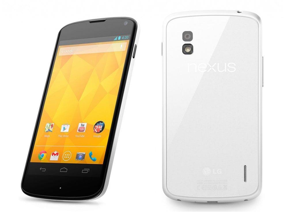 LG Nexus 4 greendust offer