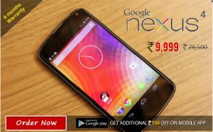 LG Nexus 4 best price