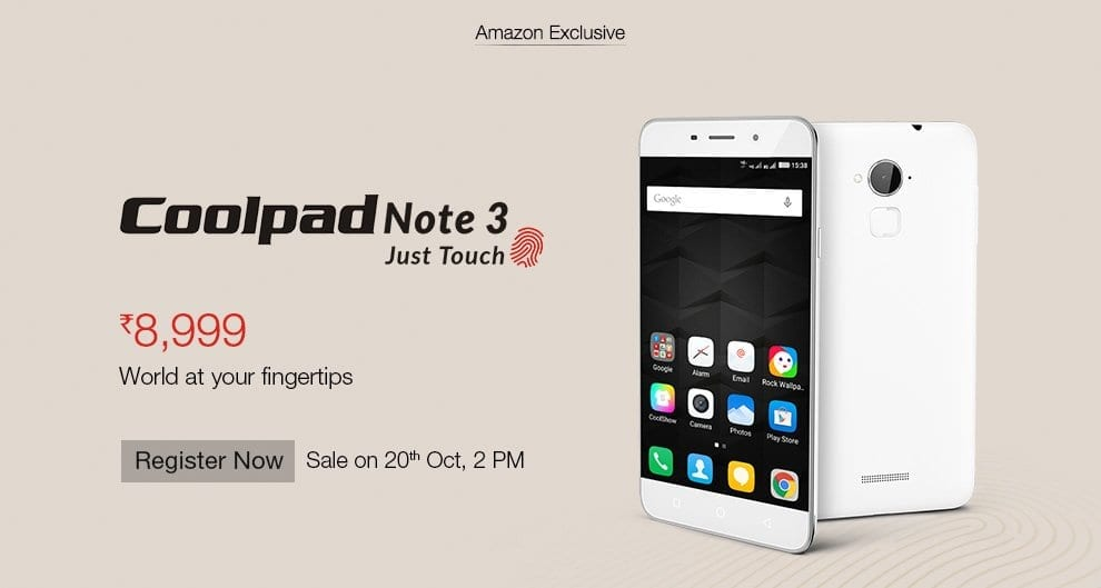 wholesale dealer e9024 e9d36 Over half million registrations for Coolpad Note 3 within 72 hours ...